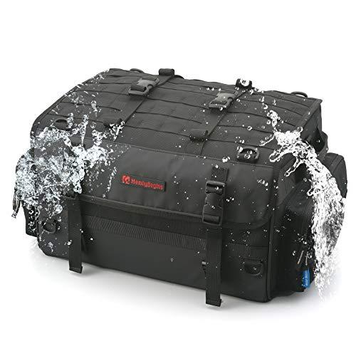 デイトナ ヘンリービギンズ バイク用 ツーリング シートバッグ WR 防水 MLサイズ(40L) ホテル1~2泊 DH-733 98879