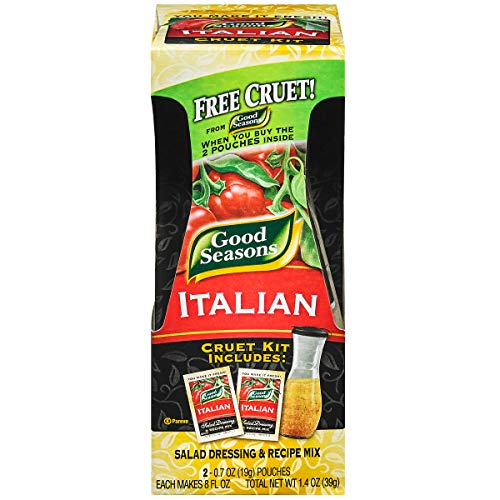 Good Seasons Italian Dry Salad Dressing and Recipe Mix, 2 ct - Packets (Pack of 6)