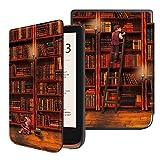 FINTIE Étui pour Pocketbook Touch HD 3 / Touch Lux 4 / Basic Lux 2 e-Book...