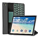Tablet 10 Pollici Octa Core -5G WIFI, Android 10.0 Tablet 4G LTE, 6GB RAM + 64GB ROM, 512GB Espandibili, 6500mAh, 8MP+5MP, 1200 * 1920,Dual SIM/GPS/Bluetooth/Custodia per Tablet e Altro Incluso-Nero