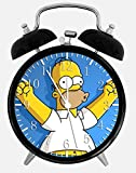 Simpsons Alarm Desk Clock 3.75' Home Office Decor Z60 Nice For Gifts