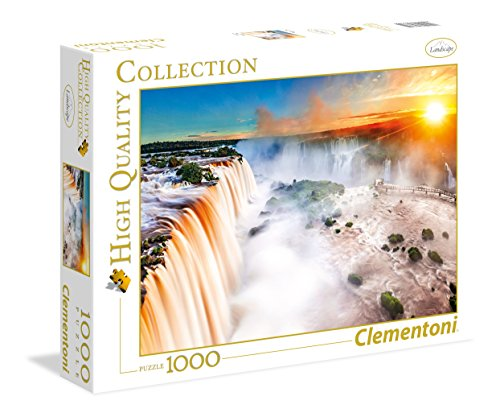 Clementoni- Waterfall High Quality Collection Puzzle, 1000 Pezzi, 39385