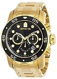 Invicta 0072 Pro Diver - Scuba Montre Homme acier inoxydable Quartz Cadran...