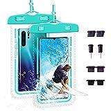 防水ケース スマホ用Face ID認証 IPX8認定 完全保護防水携帯ケー iPhone 12 Pro Max/iPhone 11……