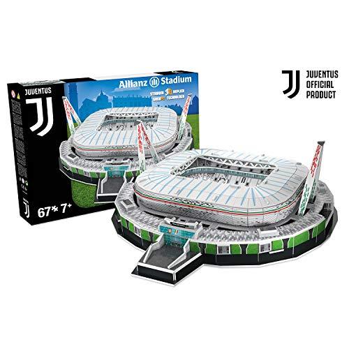 Nanostad Stadio Juventus Puzzle 3D, Et +7 anni, 67 pezzi