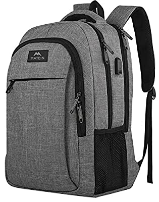★LOTS OF STORAGE SPACE&POCKETS: One separate laptop compartment hold 15.6 Inch Laptop as well as 15 Inch,14 Inch and 13 Inch Laptop. One spacious packing compartment roomy for daily necessities,tech electronics accessories. Front compartment with man...