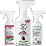 C&G Pets - Détachant anti-taches et odeurs pour animaux de compagnie -500ml- Formule végétale - Enzymes...