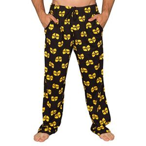 Yellow and Black Lounge Pants