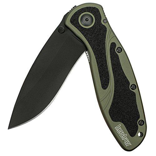 Kershaw Blur, Olive/Black Pocket Knife?