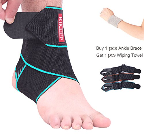 Ankle Support,Adjustable Ankle Brace Breathable Nylon Material Super...