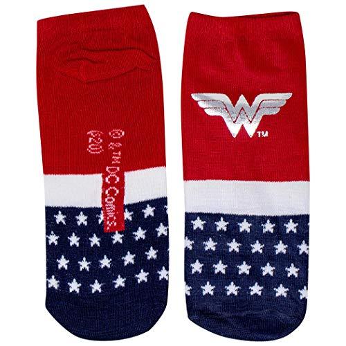 Wonder Woman Symbol con calzino corto da donna in lamina d'argento