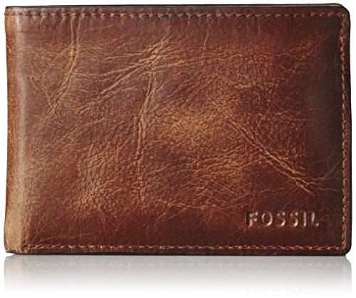 Fossil Men's Derrick Leather Front...