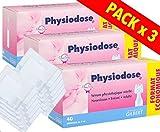 Physiodose Sérum physiologiques Lot de 3 boîtes de 40 unidoses + 10...