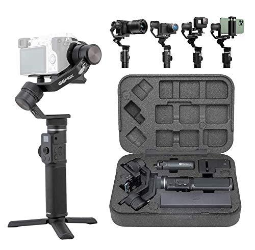 [Ufficiale]FeiyuTech G6MAX - Stabilizzatore portatile integrale a 3 assi per telefoni cellulari, Sony RX100 / A6300 / A6400 / A6500, videocamera DSLM Mirrorless e videocamera d'azione Gopro, Sony RX0