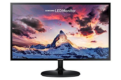 Samsung S24F350FH Monitor Monitor 24' Full HD, 1920 x 1080, 60 Hz, 5 ms, D-Sub, HDMI, Pannello PLS, Nero