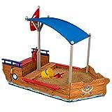 KidKraft 128 Piratenschiff Sandkasten aus Holz Gartenmöbel für Kinder - 3