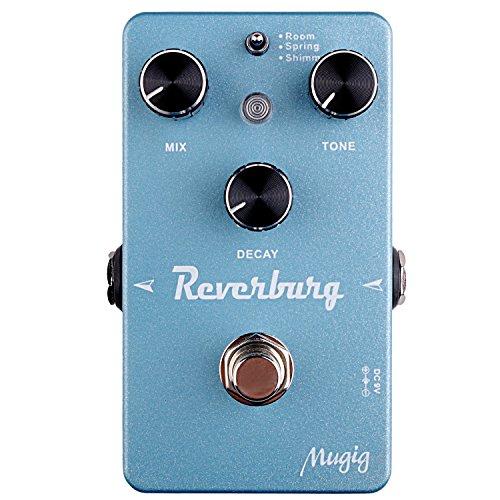 Mugig Guitar Effect Pedals,Multi-Mode (Reverb)