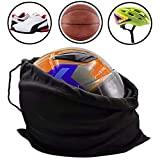 KOOU Motorcycle Helmet Bag Helmet Backpack Lightweight Storage Carrying Bag for Riding Bicycle Motorcycle Sport Gym Training Hiking Travel Bags Made of Nylon Cloth with Drawstring Bag Multi-Purpose