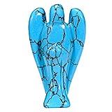 Morella Pierres précieuses Turquoise Ange porte bonheur ange gardien à...
