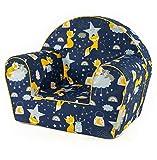 MuseHouse chaise enfant | fauteuil | Siège de canapé | Tabouret pour...