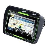 TOOGOO Updated 256M Ram 8Gb Flash 4.3 Inch Moto GPS Navigator Waterproof Bluetooth Motorcycle GPS Car Navigation North America Map