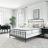 Classic Brands Mercer Cool Gel Memory Foam and Innerspring Hybrid 12-Inch Pillow Top Mattress | Bed-in-a-Box Queen
