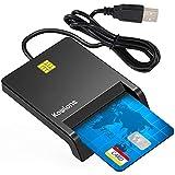Lecteur de Carte à Puce, USB-C DOD Military Common Access CAC Adaptateur...