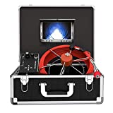 Pipe Inspection Camera, Drain Sewer Camera IP68 Waterproof Industrial Pipeline Endoscope with...