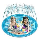 RIOGOO Sprinkler pour enfants, Saupoudrer et Splash Tapis de jeu 172CM, Jouets...