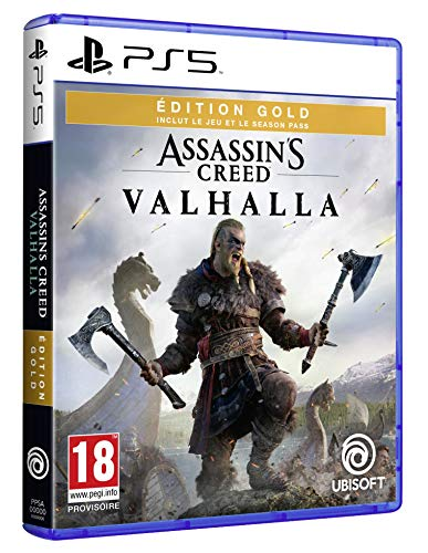 Assassin's Creed Valhalla Edition Gold PS5