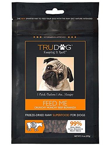 TruDog Feed Me Crunchy Munchy Beef Bonanza Dog...