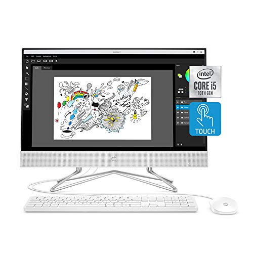 HP 24-inch All-in-One Touchscreen Desktop...