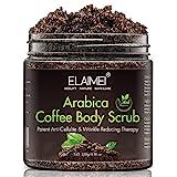 Scrub al caffè naturale con scrub corpo al caffè biologico, miglior trattamento dell'acne, anticellulite e smagliature, terapia con ragno venoso per vene varicose ed eczema