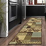 Silk Road Concepts Runner Rug, 1'10' x 7', Brown
