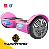 Swagtron T3 Version 2 Hands Free Smart Board, Pink, One Size