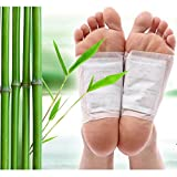RD MALL Detox Foot Pads Adhesive Patches Fit Health Care, Pain Relief & Foot Health Care Detox Pads, Natural Unwanted Toxins Remover Fatigue Release Body Massager (20 pads)