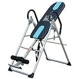 Homcom Table d'inversion de Musculation Pliable Ceinture de sécurité...