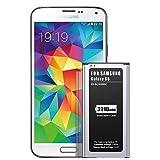 Batterie pour Galaxy S5, ZMNT 3210mAh Li-ION Batterie Remplacement pour...