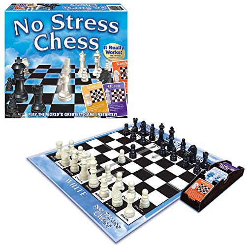 Winning Moves Games Winning Moves No Stress Chess, Natural (1091) (Video Game)