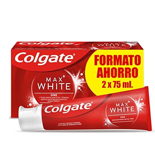 Colgate Max White One Pasta de Dientes, 2 x 75ml