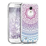 kwmobile Coque Compatible avec Samsung Galaxy S4 Mini - Housse Protectrice...