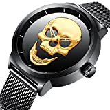 ★DURABLE and Luxury★: Imported Japan movement and battery; Top quality stainless steel mesh strap ★30M WATERPROOF★: Our watch can withstand Daily Water Resistance, you can wear it for normal daily waterproof use ★STYLISH DESIGN WATCH★: Unique Design ...