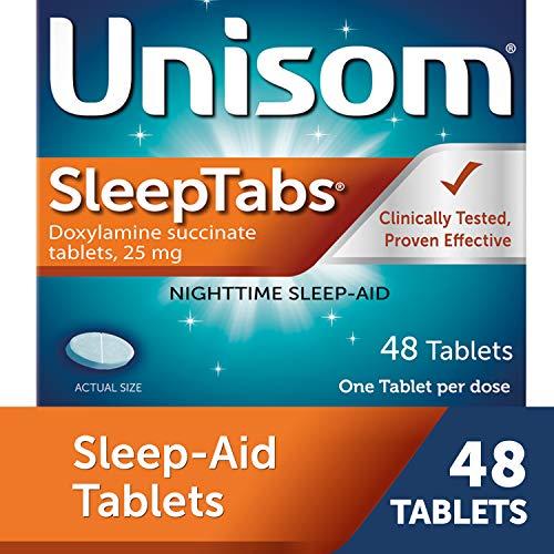 Unisom Sleep Tabs, Nighttime Sleep-aid, Doxylamine Succinate