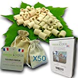 Green Koalas X50 Perles de Céramique EM Roses X30 + Grises X20 Pack...