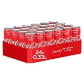 330ml di Coca-Cola (Pack di 24x 330ml)