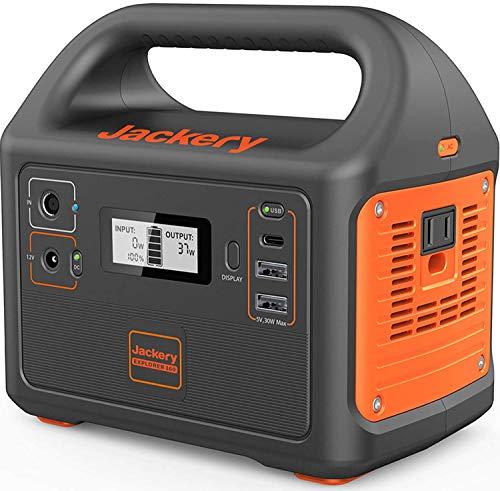 Jackery Portable Power Station Explorer 160, 167Wh Lithium...