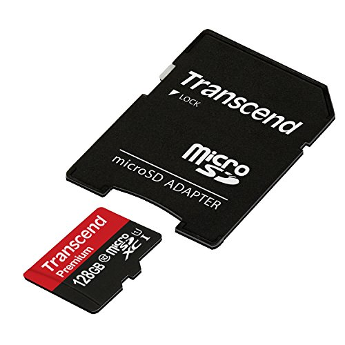 Transcend microSDXCカード 128GB UHS-I対応 400× (無期限保証) TS128GUSDU1P