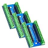 XTVTX Lot de 3 cartes d'extension Nano compatibles avec Arduino Nano V3.0 AVR...