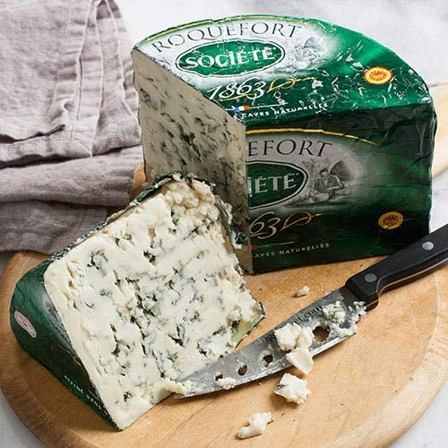 igourmet French Roquefort Cheese AOP Societe Bee Delivered Fresh
