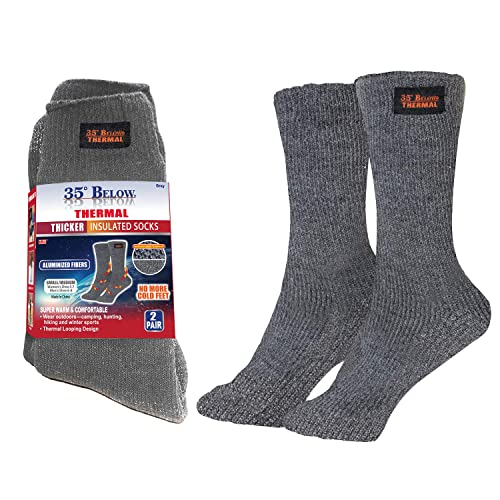 35 Below Thermal 2 pairs – Thicker Insulated Socks, As Seen On TV...